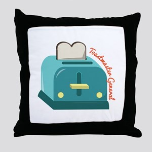 Toastmaster General Throw Pillow